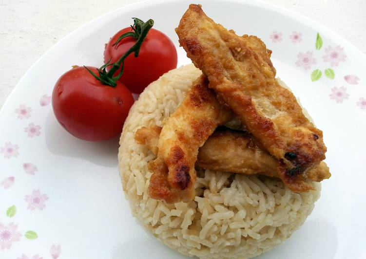 Baked Ginger Chicken And Rice
