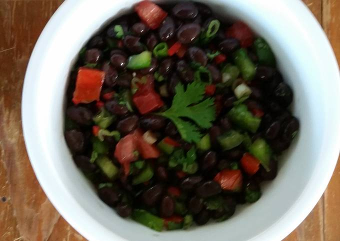 Steps to Make Perfect Black Bean Salad