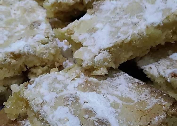 Maja's lemon squares