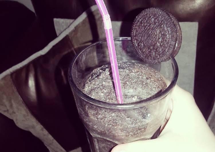 Oreo's milkshake