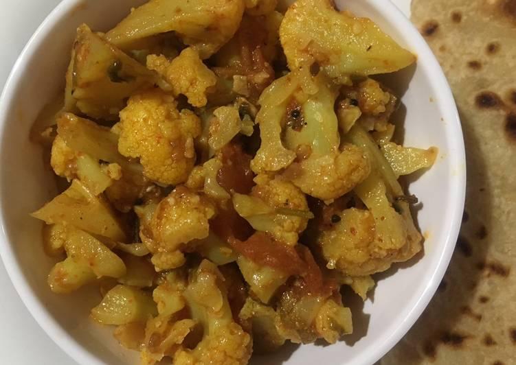 How to Prepare Perfect Cauliflower sabzi (Satvik)