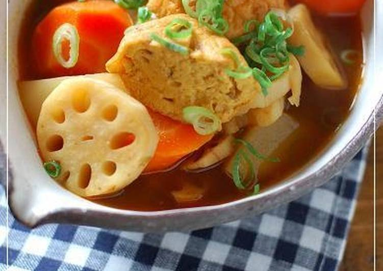 Japanese-Style Curry Soup with Fishcakes and Root Vegetables, Why Are Apples So Beneficial Pertaining To Your Health