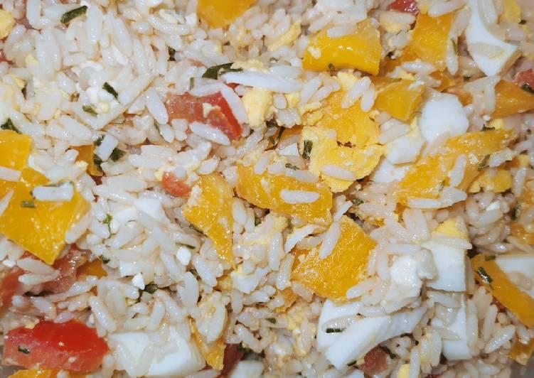 Salade de riz au soleil