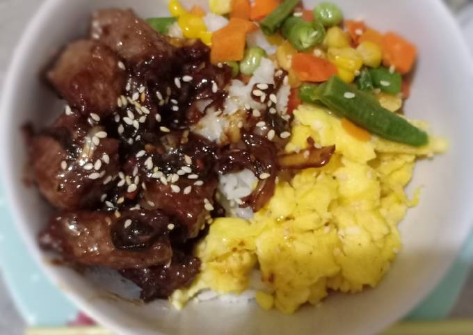Saikoro Beef Bowl