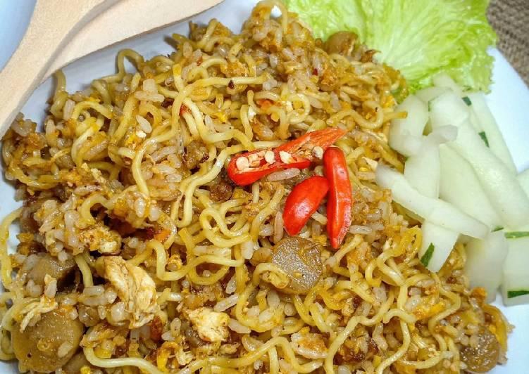 Resep Nasi goreng indomie Paling dicari