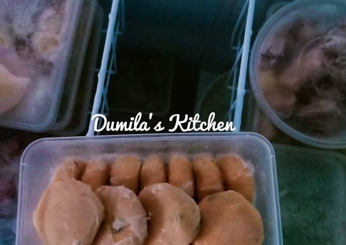 95. Perkedel Daging (Bisa untuk stok frozen food)