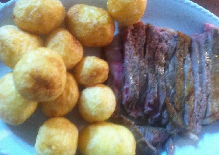 Ricetta Tagliata con patate novelle
