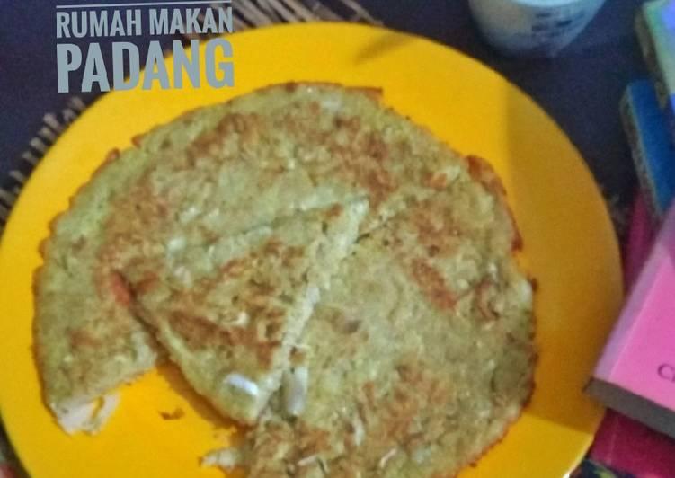 Telur Dadar Ayam ala Rumah Makan Padang