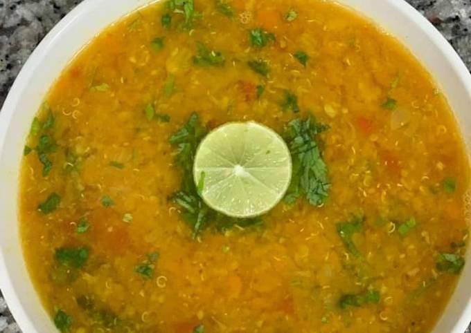 Healthy Quinoa Lentil Soup