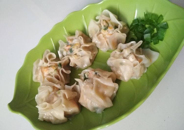 Resep Dimsum Ayam Wortel Juicy Oleh Riski Cookpad