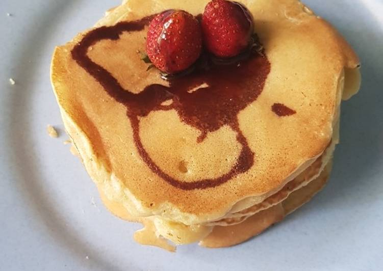 Resep Pancake sederhana anti gagal Paling Enak