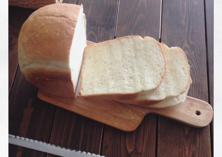 Easiest Way to Cook Tasty Japanese White Bread 'SHOKUPAN' with Bread Machine