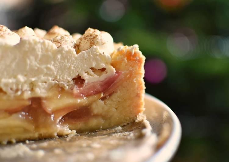 Apfel-Schmand-Torte mit Zimt