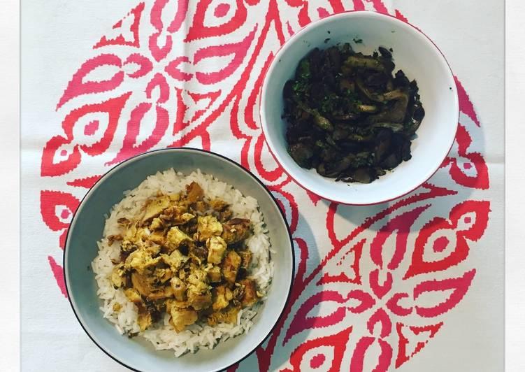Ricetta Pesce spada al curry con riso basmati