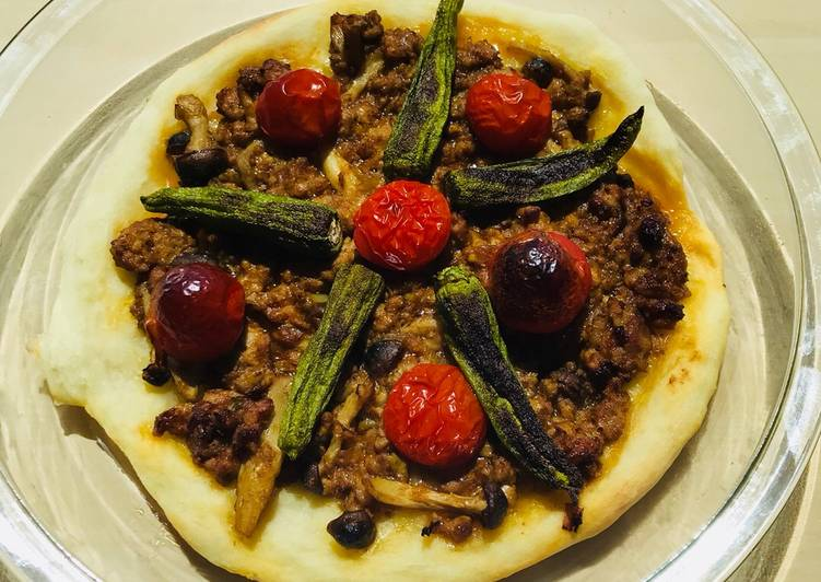 Pizza al Curry☆ -Seconda-