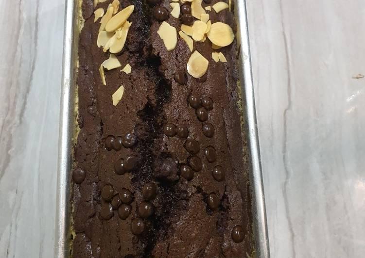 Brownies panggang Lava Oven tangkring (Tanpa Mixer)