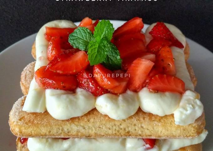 Strawberry Tiramisu 🍓🍰