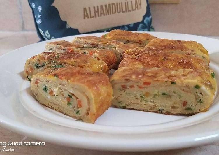 Resep Tamagoyaki (japanese rolled omelette) Terbaik