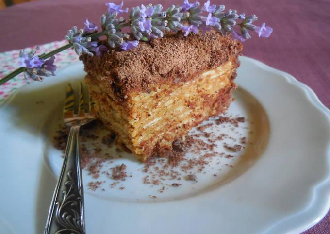 Gâteau (de mamie) aux Thé Brun, café et chocolat