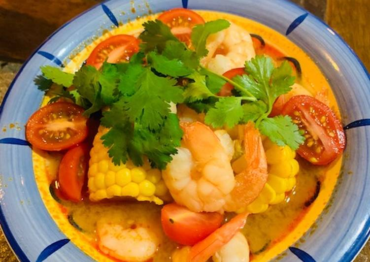 Resep Sup Udang Jagung Asam Pedas (Resep No.53), Bisa…