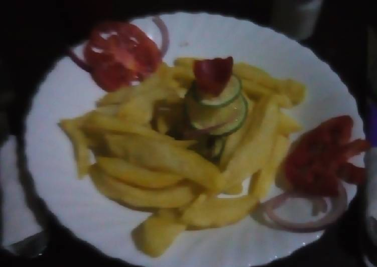 Old Fashioned Dinner Ideas Homemade Home made chips #Endofyearchallenge