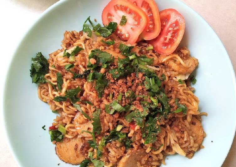 Nasi Mawut/Nasi Goreng Magelangan