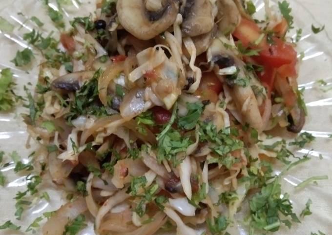Veggie_mushroom salad