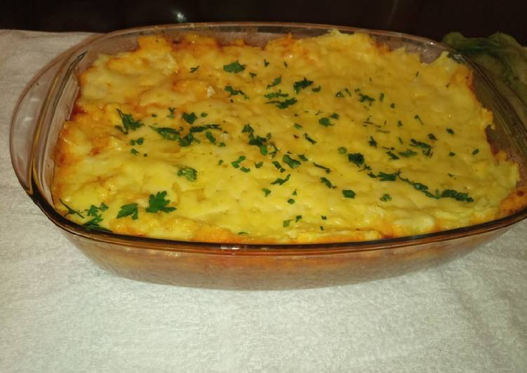 Recipe: Appetizing Shepherd's Pie
