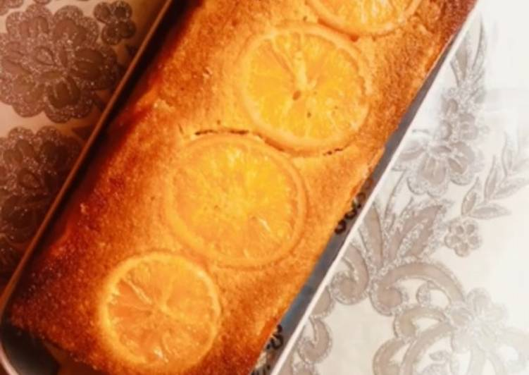 How to Prepare Yummy Gâteau aux oranges