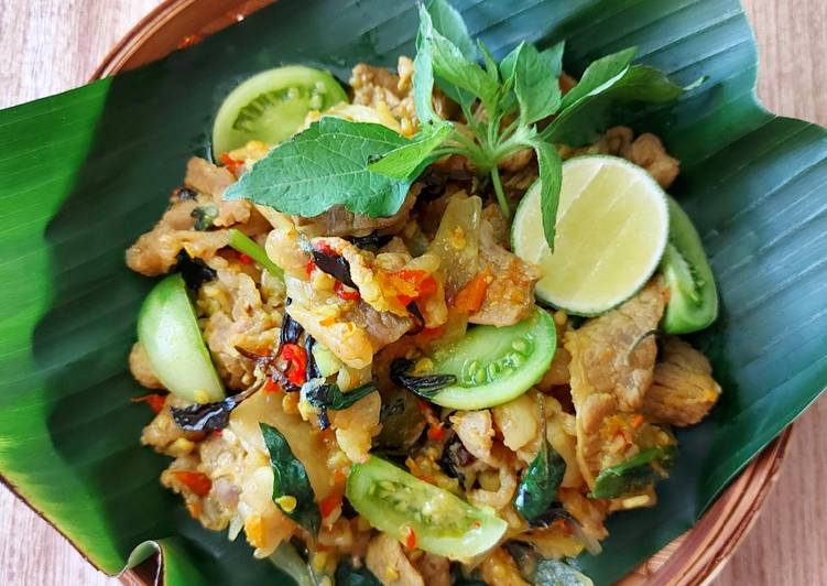 Daging Tinoransak khas Manado
