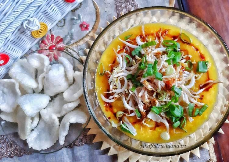 Bubur Ayam Kuning Khas Indramayu