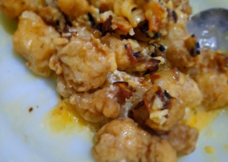 Dori Goreng Tepung Saus Garlic Butter