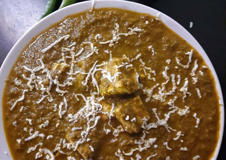 Recipe of Favorite Palak paneer