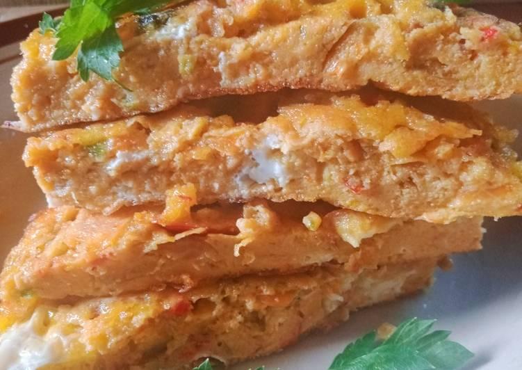 Telur Dadar ala RM Padang versi 1/2 resep