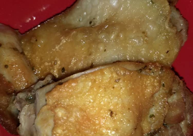 Pollo Frito Jugoso Receta De Nanii Cookpad