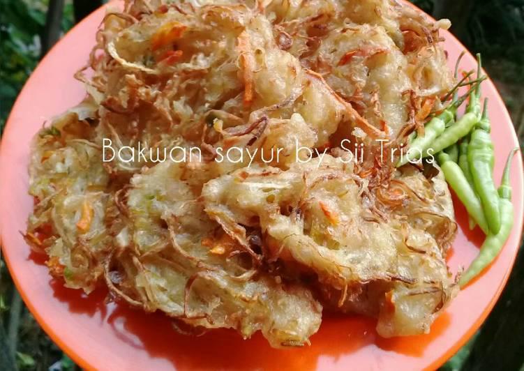 Bakwan sayur simple