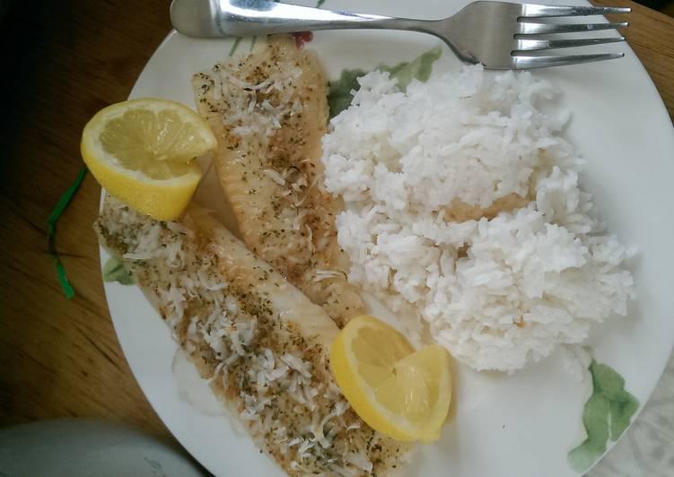 How to Prepare Tasty Lemon coconut flounder????