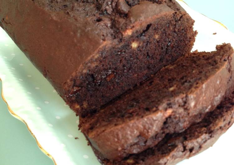 Easiest Way to Cook Appetizing Double Chocolate Banana Bread