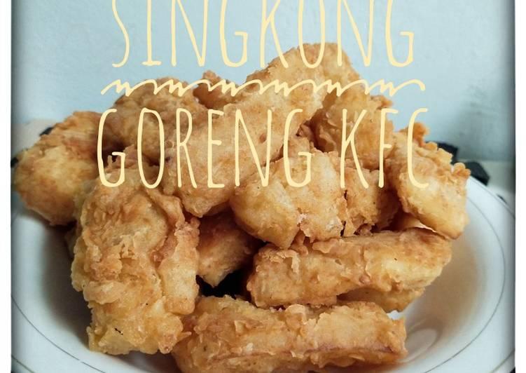Singkong Goreng KFC