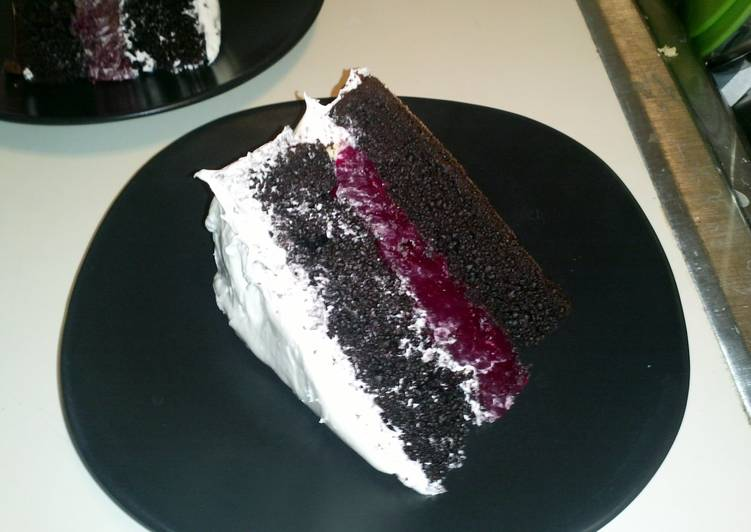 Easiest Way to Cook Yummy RASPBERRY CAKE FILLING