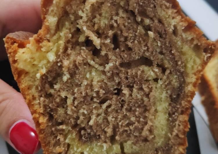 La Recette Pas à Pas Gâteau au yaourt marbré