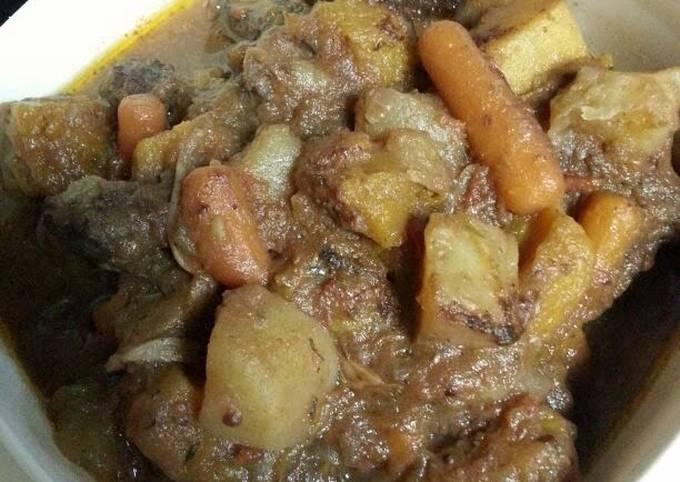 Vegetable and Meat Daube