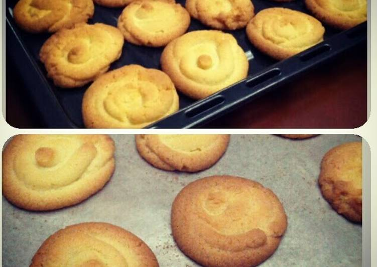 Easiest Way to Make Delicious crumble butter cookies