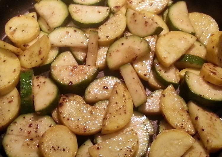 Parmesan Zucchini & Squash