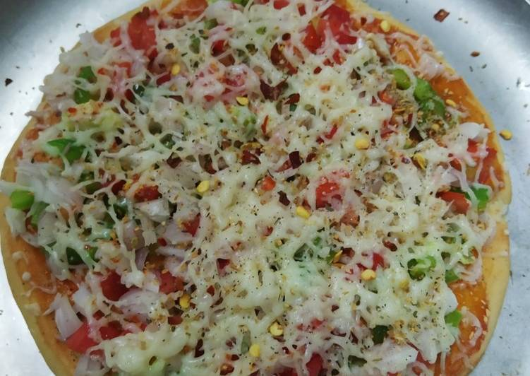 Recipe: Delicious Vegetables PIZZA