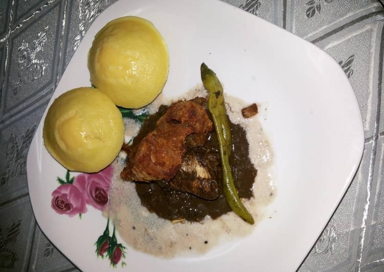 Chicken Dinuguan (afc)/ Chicken (pork)Blood Stew