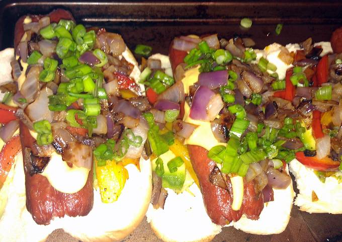 healthy, yummy way to eat hot dogs.