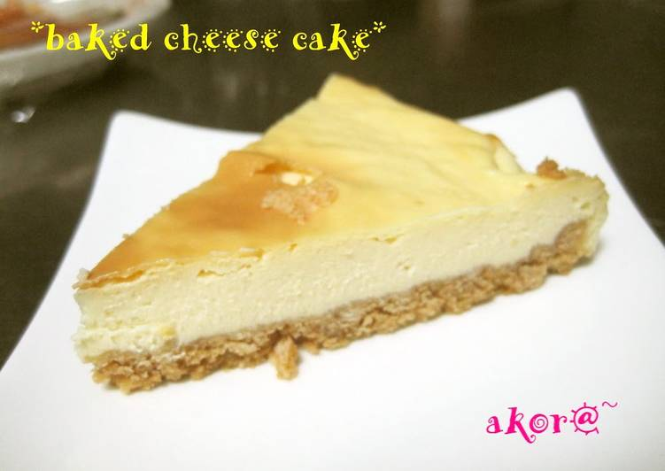 Recipe of Super Quick Homemade Easy Baked Cheesecake