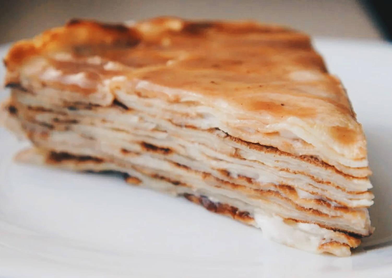 вкус, блинный торт рецепт со сметанным кремом фото стиль одежде для