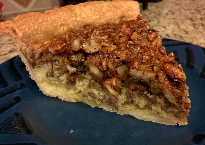 Pecan Pie with Cream Cheese Filling